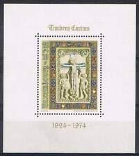 Luxemburg postfris 1974 MNH block 9 - Caritas (S0747)