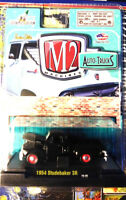 M2 Machines 1:64 Scale Auto Trucks 1954 Studebaker 3R Black - FREE SHIPPING