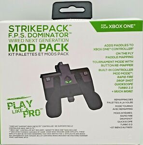 Collective Minds Strike Pack F.P.S. Dominator MOD Pack XBOX ONE NEW