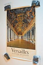Original, vintage, mid-century travel/tourism poster-Versailles-photo Draeger