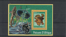 Togo 2014 MNH Fish of Africa 1v S/S Marine Frogfish Poissons d'Afrique Togolaise