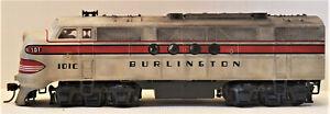 HO Scale Locomotive Burlington 101C Dummy Custom Made