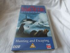 THE TRIALS OF LIFE - HUNTING AND ESCAPING VHS VIDEO NOT DVD NEW/SEALED (PAULS)