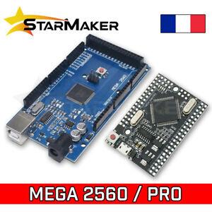 Carte MEGA 2560 R3 et PRO Arduino compatible Atmega2560 CH340G