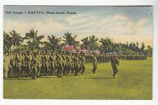 [49655] 1943 Pc Army Air Forces Technical Training Command Drill Group In Miami