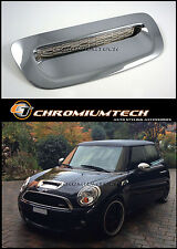 MINI R55 R56 R57 R58 R59 Cooper S/SD JCW CHROME Bonnet Air Intake Scoop Cover