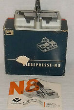 AGFA Klebepresse Splicer N8 Made in Germany Vtg with Box and Manual