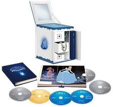 CINDERELLA 1 2 3 I II III Trilogy Limited Ed Collectible Jewelry Box Blu-ray NEW