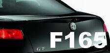 SPOILER  ALETTONE POSTER A BAULE GREZZO  ALFA GT cod F165G TR165-1PROV