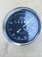 ukscooters SMITHS SPEEDOMETER 0-80M WITH CABLE ROYAL ENFIELD, BSA, NORTON REPLIC