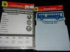 Black History Teacher Curriculum Rosa Parks Elementary Education Homeschool