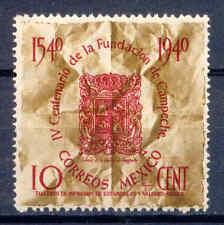 Stadtwappen, Campeche - Mexiko, Mexico - 798 ** MNH 1940