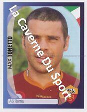 N°356 MAX TONETTO # ITALIA AS.ROMA STICKER PANINI CHAMPIONS LEAGUE 2008