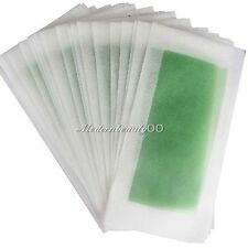Profession 10 PCS ( DOUBLE SIDE ) Cold Wax Hair Removal Strips For hand Leg Body