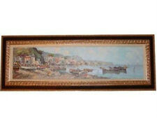 Italy Oil on Canvas - Framed Oil Painting Attributed to GAETANO ESPOSITO