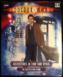 Doctor Who RPG Adventures in Time and Space Boxed Set MINT Shrink Tennant