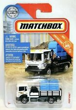 Matchbox MBX Construction 19/20 Poop King White Porta Potty Truck 1/64