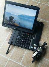 "ThinkPad X200 12.1"" Tablet Core Duo 1.86GHz 3GB RAM 160GB HDD WIFI LINUX"
