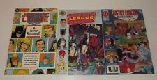Justice League comic Lot of 3!! Issues 3 , 5 , A New Beginning (graphic novel)