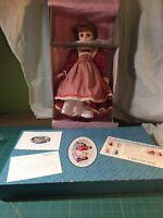 "Madame Alexander Little Women Journals 16"" Doll Jo W/hand Tag 18520"