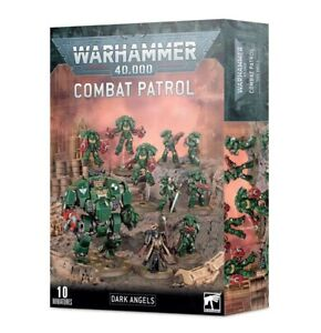 GW WARHAMMER 40K Space marine Dark Angels Combat Patrol / Lahuttedugobelinfou