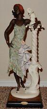GIUSEPPE ARMANI MAHOGANY LIMITED EDITION Woman With Elephant 194 C W Box