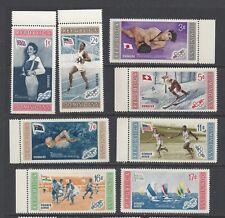 DOMINICAN REPUBLIC - 501-505;C106-C108- PERF & IMP-MNH - 1958 - OLYMPICS WINNERS