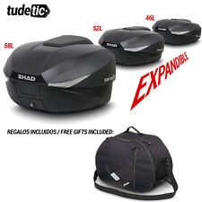 SHAD Bauletto o borsa posteriore per scooter o moto SH58X + FREE BAG