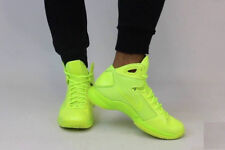 NIKE HYPERDUNK '08 Trainers Gym Casual Fashion Hi Top  UK 10 (EU 45) Triple Volt