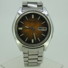 Vintage Seiko Automatic 17J 7009-8049 Day-Date Stainless Steel Watch Parts