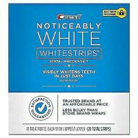 Crest 3D Whitestrips Noticeably White 10 Treatments Exp 2022+ New Factory Sealed