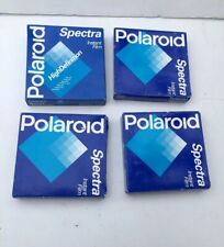 Polaroid Spectra High Definition Film 4 Packs, 40 Pictures EXPIRED 1997 SEALED