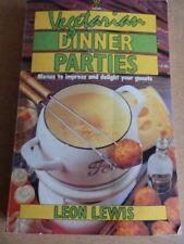 Lewis, Leon, Vegetarian Dinner Parties, Very Good, Paperback