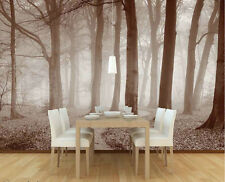The Winding Path-Wall Mural-12'wide by 8'high-Sepia
