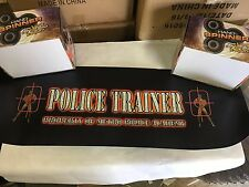 Police Trainer Arcade Video Game Marquee Sign - New