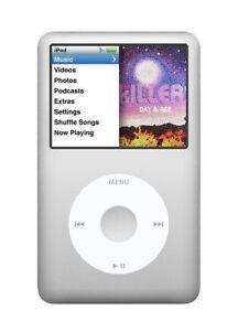 iPod Classic 7th gen 160GB Silver