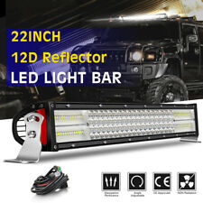 "1500W 22"" Led Work Light Bar Combo Lamp Offroad Driving Lamp Atv Ute Suv 4WD 24"""