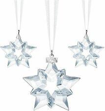 Nib Sparkling Swarovski Crystal Christmas Snowflake Ornament Set 2019 Edition