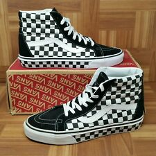 24a15ed6ba  NEW  Vans Authentic SK8 Hi Reissue (Men s Size 9.5) Skate Sneakers  Checkerboard