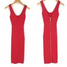 Liu Jo Red Stretch Bodycon Dress Womens Size 40