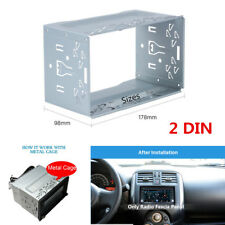 Universal Car Radio Frame Fascia Plate DVD Player Mount Install Dash Bezel 2 DIN