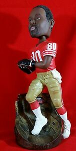 Jerry Rice 49ers Bobblehead San Francisco Super Bowl 23 MVP limited 350 of 5000