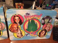 Vintage 1989 Wizard of Oz Storage Tin in Original Box Dorothy Wicked Witch