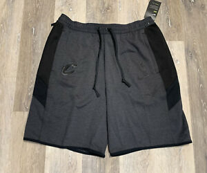 Nike NBA Cleveland Cavaliers Team Issued Gray Therma Flex Shorts Size Large RARE