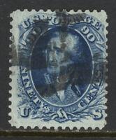 SCOTT 72 1861 90 CENT WASHINGTON REGULAR ISSUE USED VG CAT $150!
