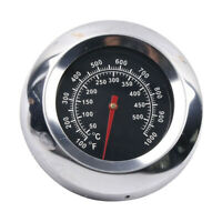 BBQ Smoker Grill Thermometer Stainless Steel Temperature Gauge