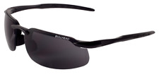 Bullhead BALISTIC RATED READER Safety Sun Glasses Black w/Smoke Lens 2.5 Diopter