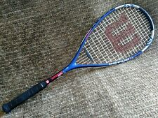 Wilson TI power titanium squash racket