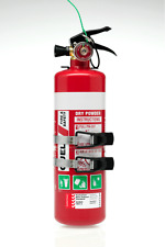 QUELL 1KG FIRE EXTINGUISHER ABE 1A: 10B:E AUTO+RECREATIONAL USE+ METAL MOUNT KIT