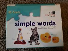 Spice Box Early Learning Simple Words Puzzle Cards